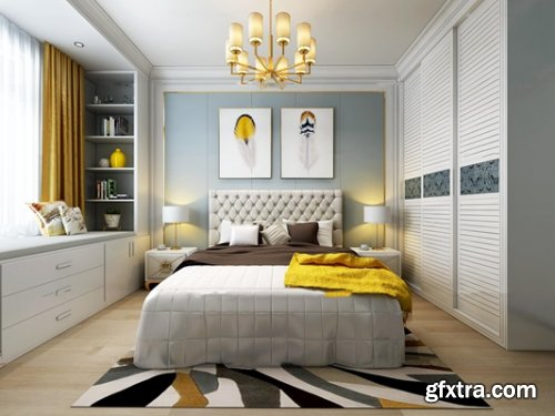 Modern Style Bedroom 252