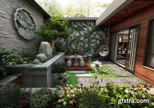 Garden Landscape 04