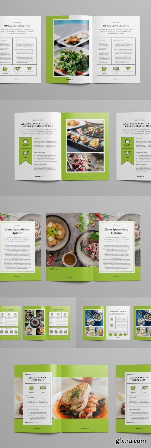 Light Green and White Brochure Layout 227497543
