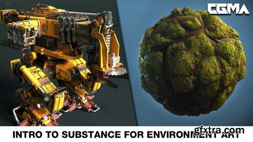 CGMA - Intro to Substance for Environment Art with Ben Keeling