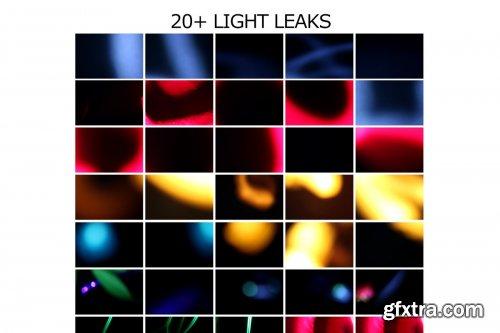 CreativeMarket - Big Pack Overlay | LIGHT LEAK-Vol 01 4431393