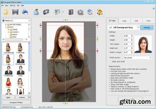 AMS Passport Photo Maker 8.36 Multilingual