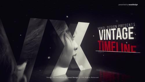Vintage Timeline Title - 14264941