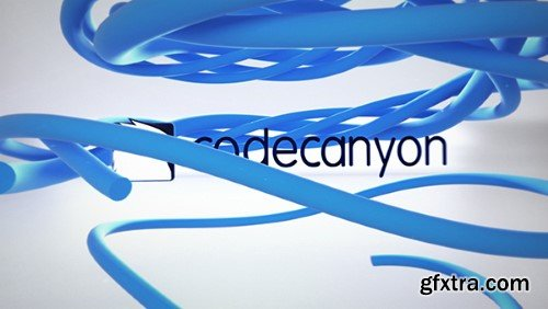 Videohive Clean Ribbon Logo Reveal 21179727