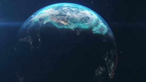 Videohive - Earth In The Space