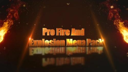 Videohive - Fire And Explosion Mega Pack
