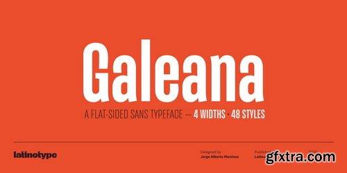 Galeana Font Family