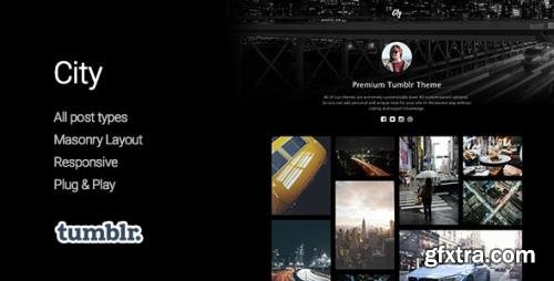 ThemeForest - City v1.2.1 - High Quality Portfolio Tumblr Theme - 11400608