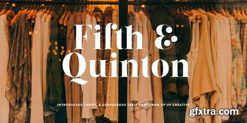 Thrift Font Family
