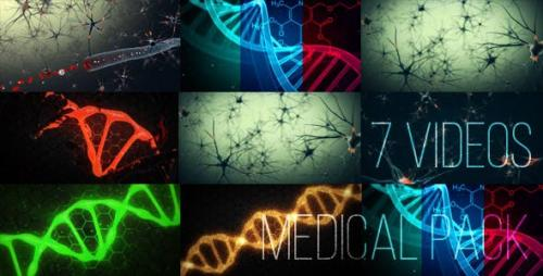 Videohive - Medical Animations Pack