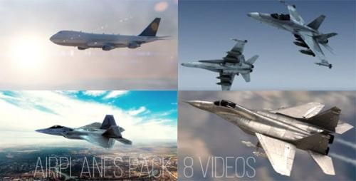 Videohive - Airplanes Pack