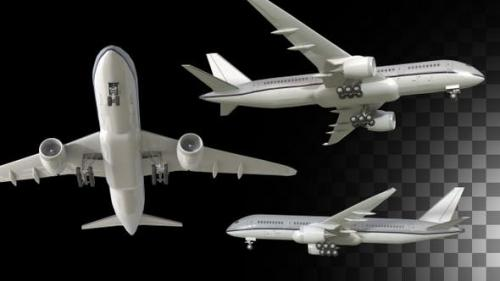 Videohive - Airplane Pack Of 3