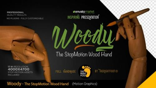 Videohive - Wood Hand Stop Motion Bundle