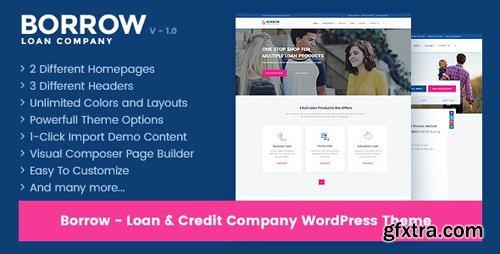 ThemeForest - Borrow v1.4.8 - Loan Company Responsive WordPress Theme - 19294811