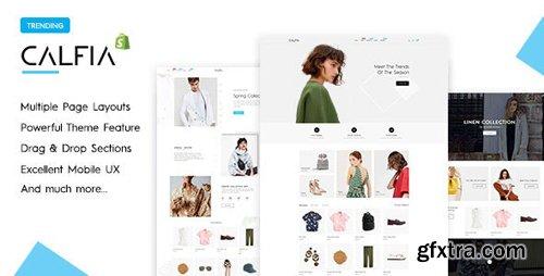 ThemeForest - Calfia v1.0.1 - Fashion Multipurpose Shopify Theme - 25232642
