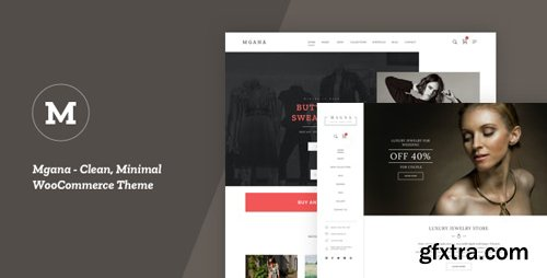 ThemeForest - Mgana v1.0.1 - Clean, Minimal WooCommerce Theme - 25024015
