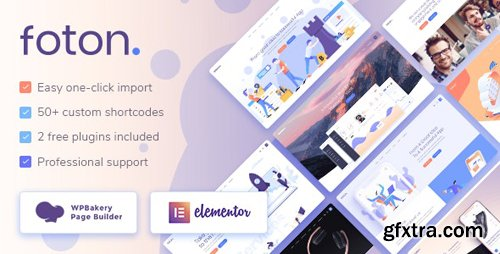 ThemeForest - Foton v1.4.1 - Software and App Landing Page Theme - 22251705 - NULLED
