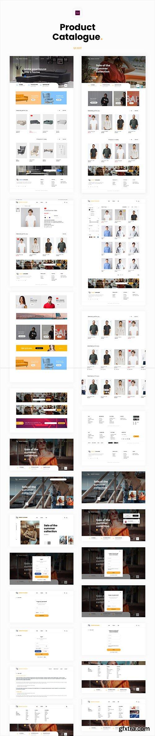 Product Catalogue UI Kit