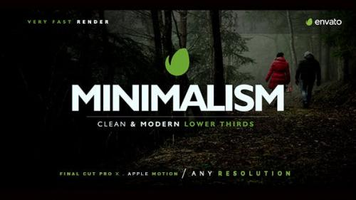 Videohive - Minimal Lower Thirds For Final Cut Pro X