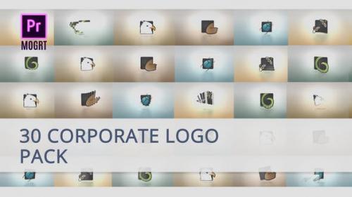 Videohive - 30 Corporate Logo for Premiere Pro
