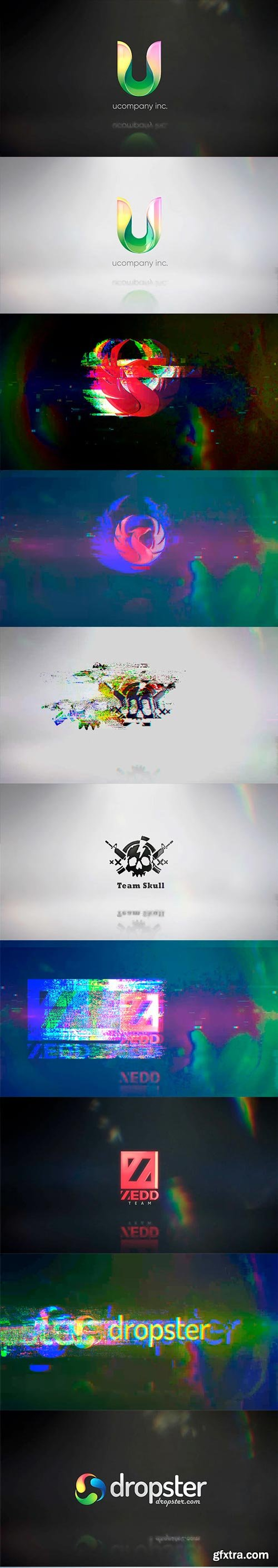 Videohive - Glitch Logo - 25550043
