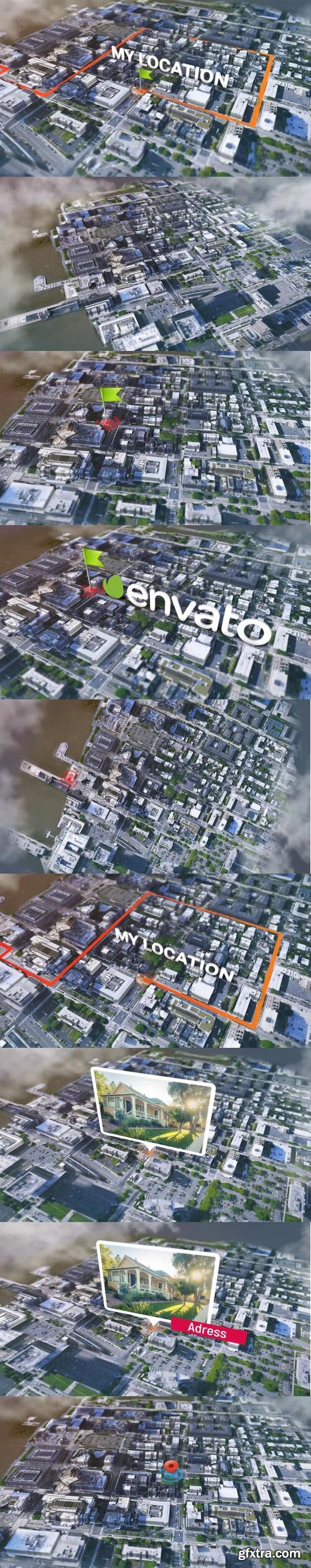 Videohive - Satellite Real Map Generator Kit - 25554991