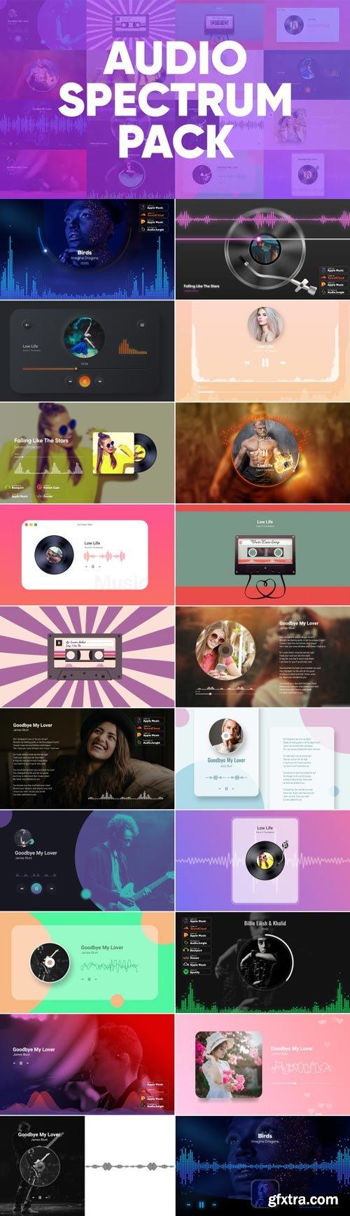 Videohive - Audio Spectrum Pack - 25645087
