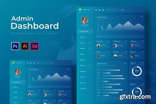 Paneling X Dashboard | Admin Template