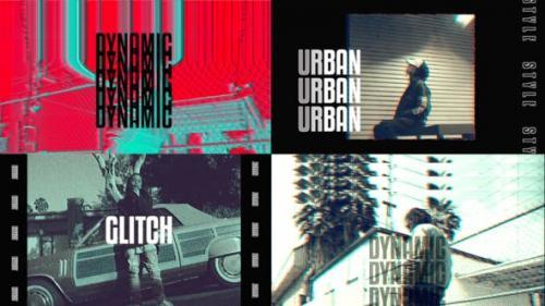 Videohive - VHS Urban Opener