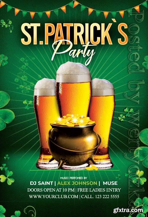 Saint Patricks - Premium flyer psd template