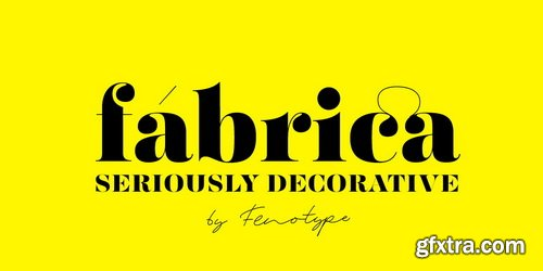 Fabrica Font Family
