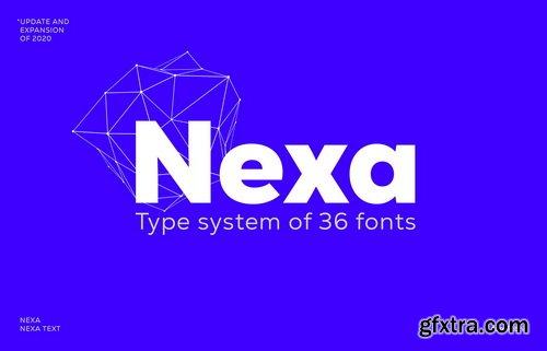 Nexa Font Family (UPDATED)