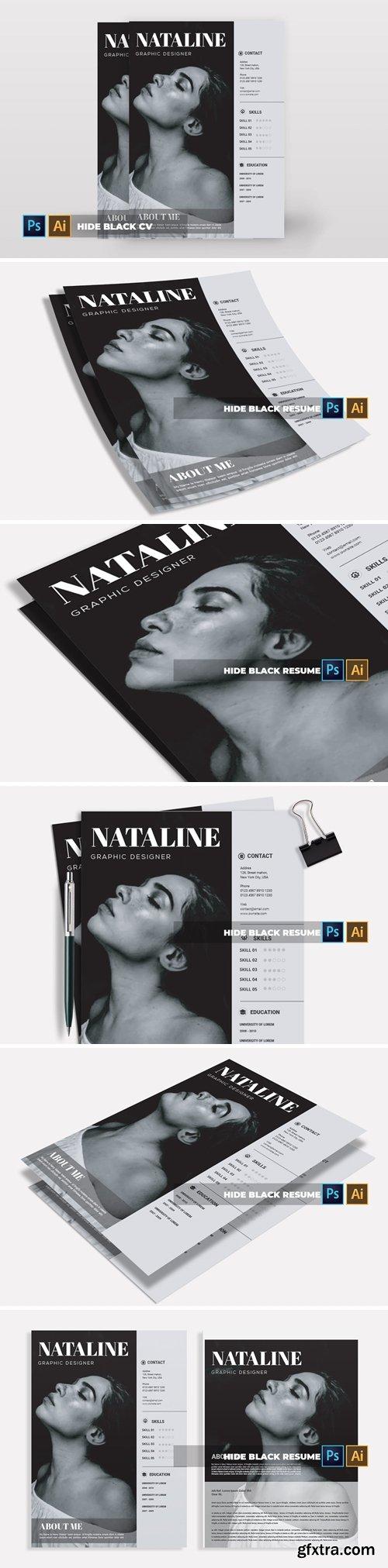 Hide Black | CV & Resume