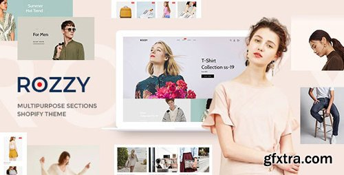 ThemeForest - Rozzy v1.0.0 - Multipurpose Shopify Sections Theme - 25340523