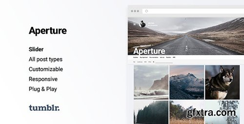 ThemeForest - Aperture v2.0.7 - Responsive Photography Tumblr Theme - 10932604