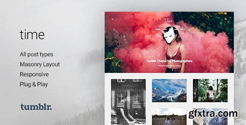 ThemeForest - Time v2.0.0 - Photography Grid Tumblr Theme - 11215231