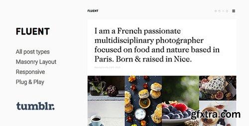 ThemeForest - Fluent v1.3.2 - Premium Portfolio Tumblr Theme - 11437813