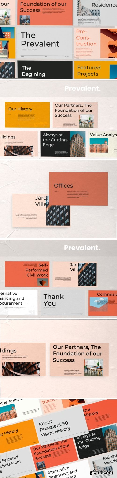Prevalent Powerpoint Template 2890477