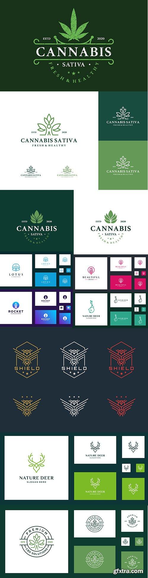 Simple Creative Logo Template Pack