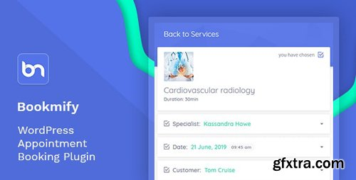 CodeCanyon - Bookmify v1.3.6 - Appointment Booking WordPress Plugin - 23837899