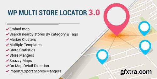 CodeCanyon - WP Multi Store Locator Pro v3.5.0 - 19385351