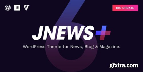 ThemeForest - JNews v6.0.0 - WordPress Newspaper Magazine Blog AMP Theme - 20566392 - NULLED