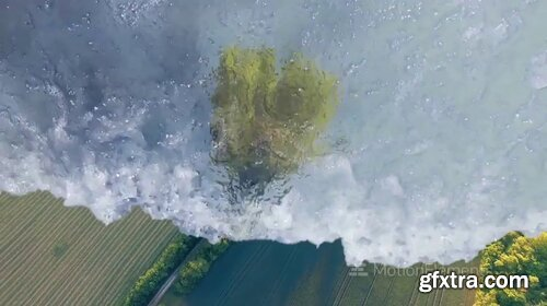 MotionElements - Realistic Water Wave Transitions - 12054112