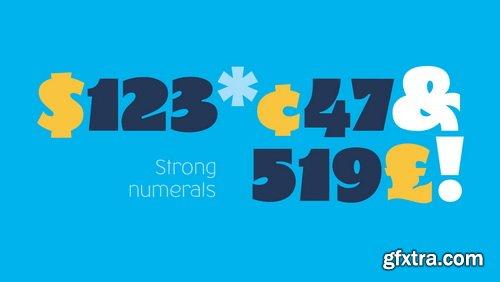 CM - ZUFO Font Family - 1184163