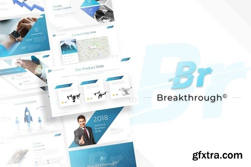Breakthrough - Business Powerpoint Template