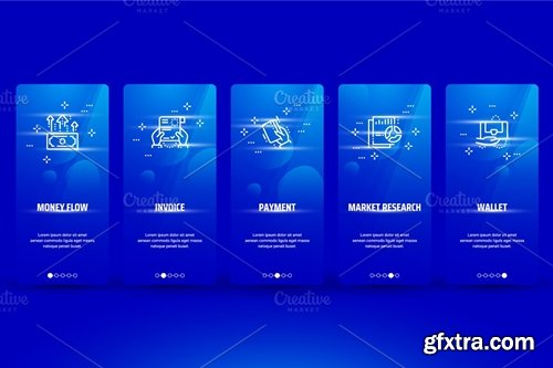 CM - 2426057-Finance-Metaphors-on-Blue-Cards 2426057