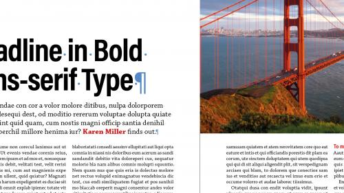 Lynda - InDesign: Elements of a Layout - 447317