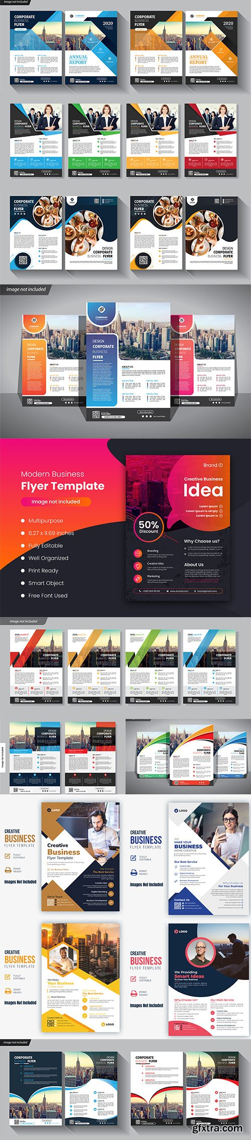 Flyer Business Template Corporate Set
