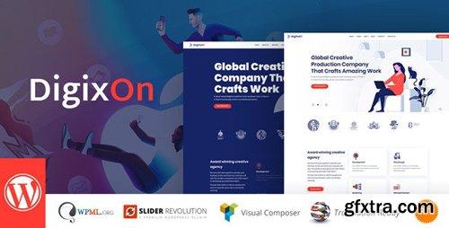 ThemeForest - Digixon v1.5 - Digital Marketing Strategy Consulting WP Theme - 23458621