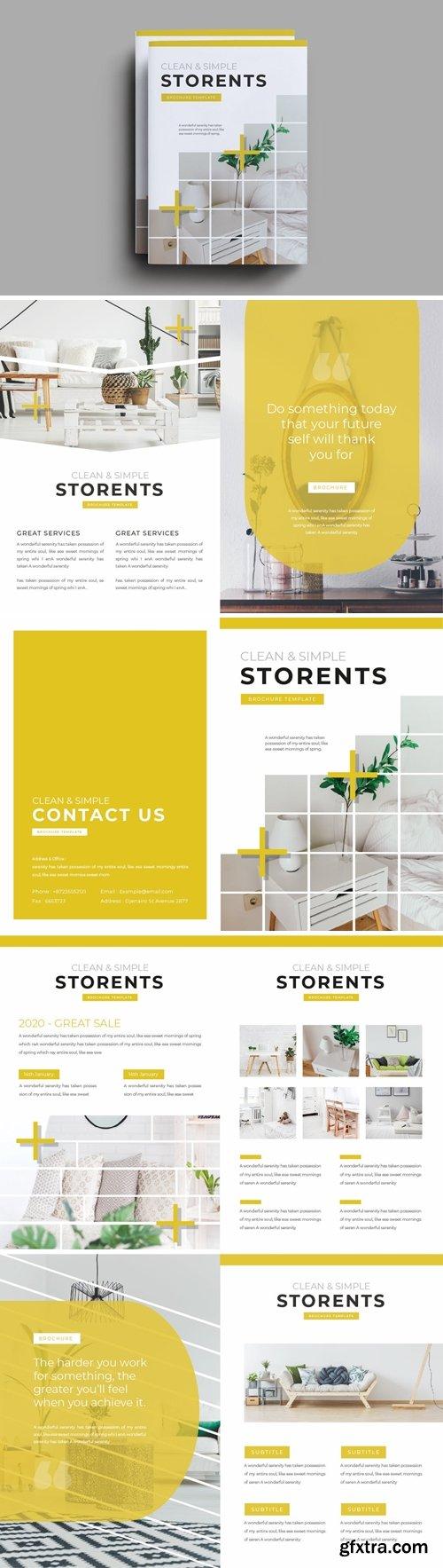 Storents Brochure Template